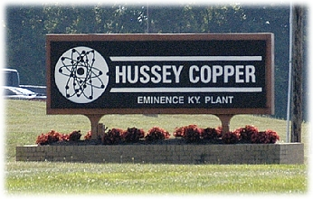Hussey CopperEminence KY